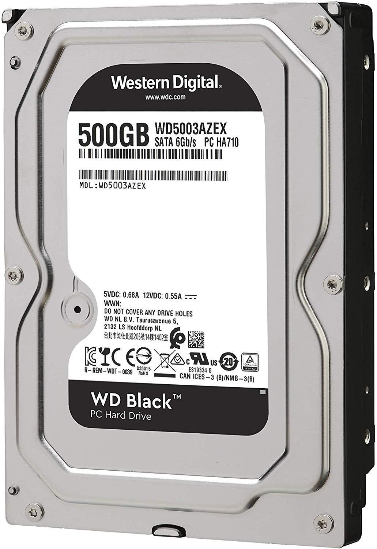 Western Digital HDD WD5003AZEX 500GB SATA 6Gb-s Caviar ...