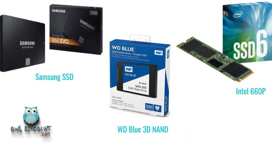 5 Internal and External SSD