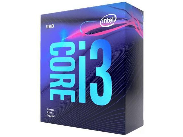 Intel Core i3-9100F @ 3.60GHz