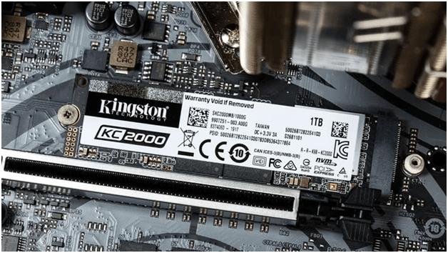 Kingston Solid State Drive SKC2000M8 KC2000 M.2 NVMe PCIE