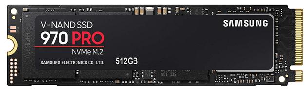 Samsung SSD MZ-V7P512BW 970 PRO NVMe M.2 Internal SSD